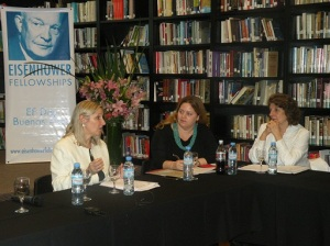 Silvia Bacher (EF. '01) Argentina, Yanina Budkin (EF. '12) Argentina, Mabel Causarano (EF. '83) Paraguay.