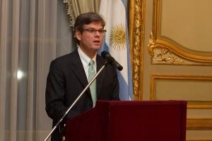 Kevin Sullivan, Encargado de Negocios ad interim, Embajada EE.UU.